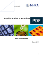 A Guide to What is a Medicinal Product