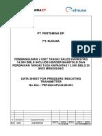 Pressure Indicating Transmitter