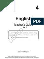 Grade 4 Tg English Quarter 3