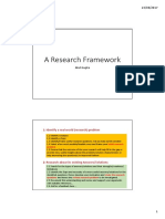 3 an Empirical Research Framework