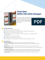 Changes in NFPA 70E 2018 vs 2015
