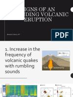 Signs of an Impending Volcanic Eruption.1