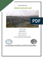 Sardar Sarovar Dam Visit