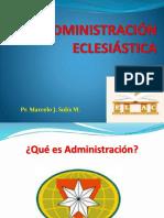 001 Administración Eclesiástica