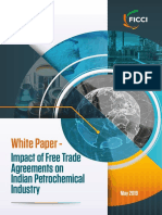 White Paper on Impact of Free Trade Agreements on Indian Petrochemical Industry