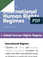 Chapter 11 - International Human Rights Regimes (Abridged)