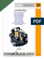Silnik JCB 444 Mechanical