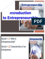 2. Introduction to Entrepreneurship