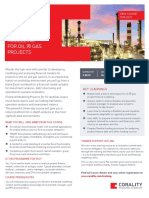 Financial Modelling for Oil Gas Course Brochure CoralityFG