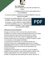 Apuntes Lengua 6º Primaria Tema 2