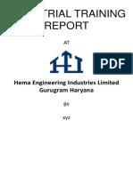 Mid Term Progresss Report hema engineering