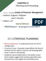 Financial Management, Lecture 5 & 6