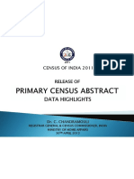 India Census Abstract-2011-Data on Sc-sts