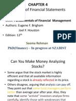 Financial Management, Lecture 2, 3 & 4