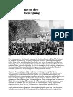 Die Vier Phasen Der Antikriegsbewegung