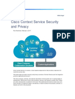 Cisco Context Service Security White Paper