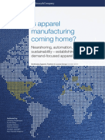 Is Apparel Manufacturing Coming Home Vf