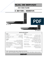 Toshiba Sd3010s 3020vk Completo