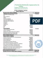 Informe Financiero ANPA, Abril 2019