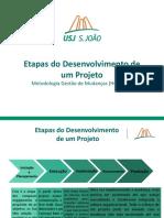 Etapas de Desenvolvimento de Um Projeto