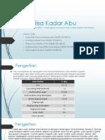 Analisa Kadar Abu.pptx