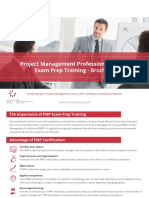 Pmp Exam Prep Training Brochure