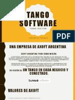 Presentacion Tango Software