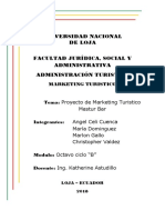 Proyecto de Marketing BAR