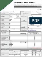 Personal Data Sheet.xls
