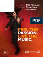 RTÉ National Symphony Orchestra 2019-2020 Season