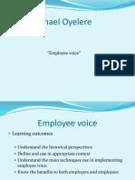 Employee Voice