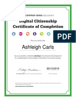 digital citizenship certificate of completion final