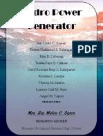 Hydropower Generator