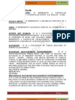 Oracle Notes PDF