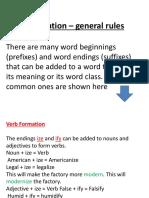 Word Formation b2