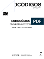 Eurocódigo 7.Geotecnia