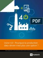 Usine 4.0 - Pourquoi La Production Data-driven n'Est Plus Une Option_Livre Blanc_Isatech