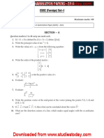 CBSE Class 12 Mathematics Board Question Paper 2011 Foreign with solutions.pdf