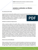 Modelos económicos existentes en México-Marin