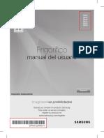 Manual Refri -DA68-02945D 5 XZS-Spanisha