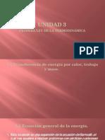 Exposicion U3 1ra Ley de La Termodinámica