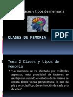 Memoria. Tema 1