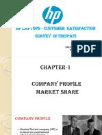 satisfaction survey on hp laptops