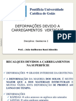 Aulas Geotecnia II_ Deformacoes Devido a Carregamentos