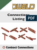f. Data Sheet -CADWELD ConnectionsListing