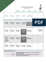 Calendario JUNIO 2019, CNGok