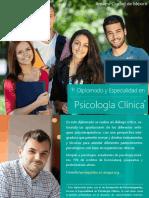 Diplomado y Especialidad en Psicología Clínica (CDMX)