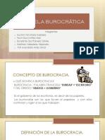 Escuela Burocrática Ult 1