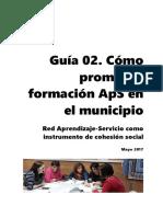 Promoción de la formación aprendizaje-servicio