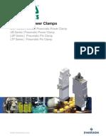 Catalog Pneumatics Series Power Clamps Arms Asco en 4687134
